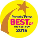 Parents' Press Best of the East Bay 2015 logo